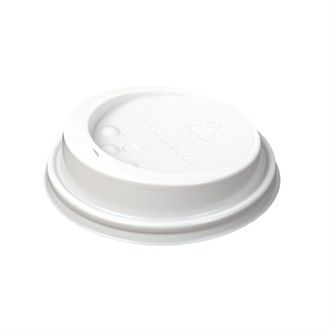 Huhtamaki Hot Cup Lid to fit 8 / 9oz White CL868
