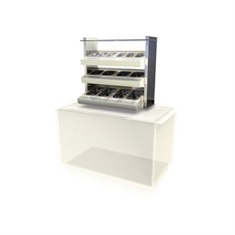 Kubus Drop In Ambient Cutlery/Condiment Unit KCCU2 CW625