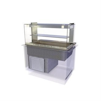 Kubus Drop In Chilled Deli Serve Over Counter 1175mm CW626