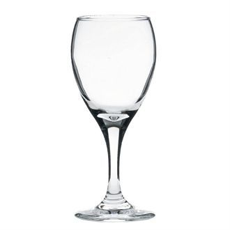 Libbey Teardrop White Wine Glasses 190ml CE Marked at 125ml CT478