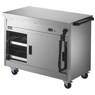 Lincat Panther 670 Series Hot Cupboard with Plain tops P6B3 GJ571