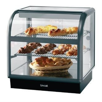 Lincat Seal 650 Curved Front Ambient Merchandiser C6A/75B M874