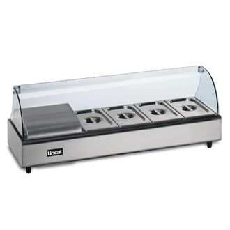 Lincat Seal Food Display Bar 4 x 1/3 GN GJ760