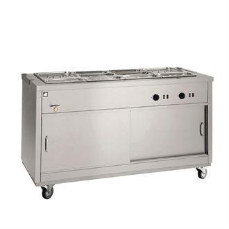 Parry Bain Marie Topped Mobile Hot Cupboard HOT18BM GM794