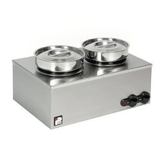 Parry Double Pot Bain Marie CBM2 GM786