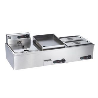 Parry Fryer Bain Marie Griddle Combi 1952A DC623