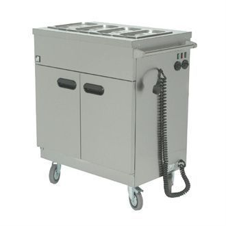 Parry Mobile Servery with Bain Marie Top 1894 GM721