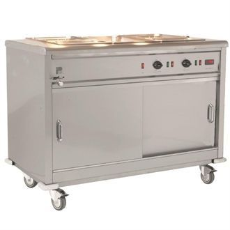 Parry Mobile Servery with Bain Marie Top MSB15 GM777