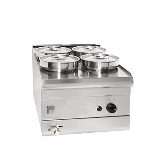 Parry Wet Well Natural Gas Bain Marie PGWB4P GM776-N