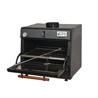 Pira 45 Lux Charcoal Oven Black GP556