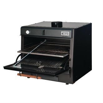 Pira 50 Lux Charcoal Oven Black GP552