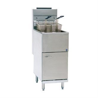 Pitco Free Standing Single Tank Natural Gas Fryer CE-35CS-NAT T941-N