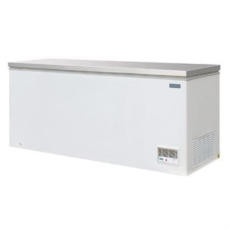 Polar Chest Freezer with Stainless Steel Lid 523Ltr CM532