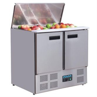 Polar Refrigerated Saladette Counter 240Ltr G606