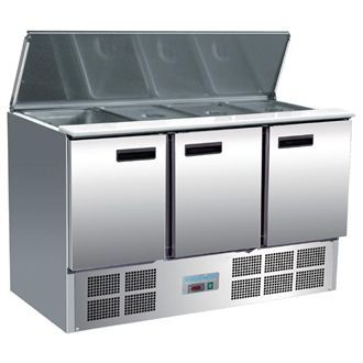 Polar Refrigerated Saladette Counter 368Ltr G607