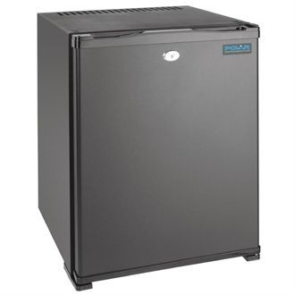Polar Silent Hotel Room Fridge Black 30Ltr CE322