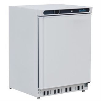 Polar Under Counter Fridge White 150Ltr CD610