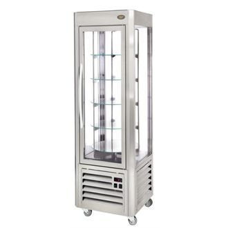 Roller Grill  Revolving Display Fridge 360 Ltr GD342