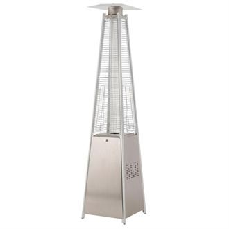 Tahiti Flame Stainless Steel Patio Heater 13kw CL467