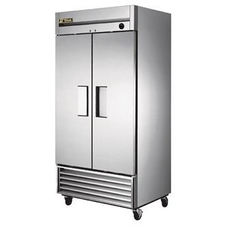 True Double Door Fridge Stainless Steel 991Ltr T-35 CC226
