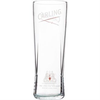 Utopia Carling Nucleated Half Pint Glass CE Marked CR085